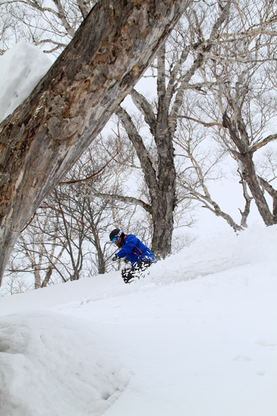 非圧雪スキーレッスン